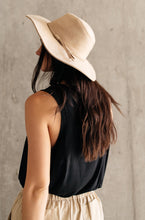 Load image into Gallery viewer, Suede In The Shade Hat In Natural - Smith & Vena Online Boutique