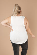 Load image into Gallery viewer, Tank Heavens Off-White Tank Top - Smith & Vena Online Boutique