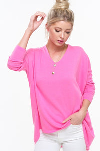 X Taylor Dolman - Pink - Smith & Vena Online Boutique