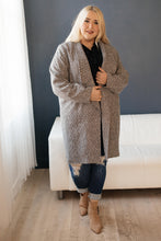 Load image into Gallery viewer, The Cold Can't Stop Me Coat in Charcoal - Smith & Vena Online Boutique