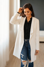 Load image into Gallery viewer, The Cold Can't Stop Me Coat in White - Smith & Vena Online Boutique