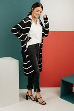 Load image into Gallery viewer, Janessa Striped Cardigan - Smith & Vena Online Boutique