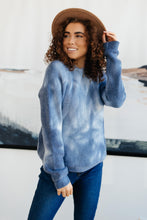 Load image into Gallery viewer, Margo Long Sleeve Top in Blue - Smith & Vena Online Boutique