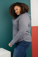 Load image into Gallery viewer, Mel Thermal Pullover - Slate Gray - Smith & Vena Online Boutique