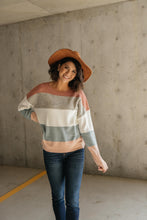 Load image into Gallery viewer, Danielle Striped Sweater