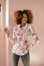 Load image into Gallery viewer, Warm Tie Dye Vibes Hoodie - SAMPLE - Smith & Vena Online Boutique