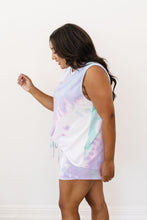 Load image into Gallery viewer, Watercolor Tie Dye Tank In Lilac - Smith & Vena Online Boutique