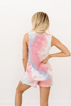 Load image into Gallery viewer, Watercolor Tie Dye Tank In Pink - Smith & Vena Online Boutique