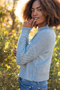 Wear Your Details On Your Sleeve Sweater - Smith & Vena Online Boutique
