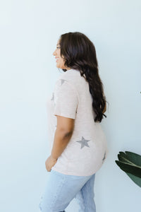 Wish Upon A Star Top In Blush - Smith & Vena Online Boutique