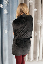 Load image into Gallery viewer, You Time Robe in Black - Smith & Vena Online Boutique