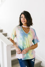 Load image into Gallery viewer, Peace Love Tie Dye Top - Smith & Vena Online Boutique