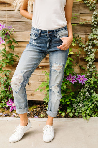 Perry Boyfriend Denim - Smith & Vena Online Boutique