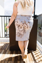 Load image into Gallery viewer, Casual Floral Drawstring Skirt- SAMPLE - Smith & Vena Online Boutique