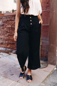 Clarissa Cropped Trousers - Smith & Vena Online Boutique