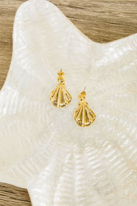 Dangling Sea Shell Earrings - Smith & Vena Online Boutique