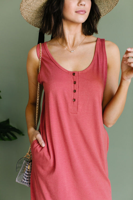 Easy Living Tank Dress - Smith & Vena Online Boutique