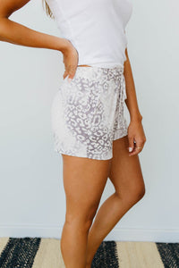 Faded Gray Shorts - Smith & Vena Online Boutique