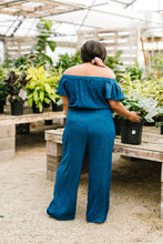 Load image into Gallery viewer, Cassidy Jumpsuit- Teal - Smith & Vena Online Boutique