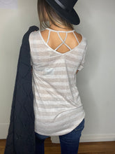 Load image into Gallery viewer, Lucy Cage Neck Top- SAMPLE - Smith & Vena Online Boutique