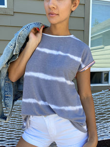 Play In Gray Top - Smith & Vena Online Boutique