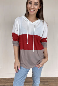 Danielle Thermal Hoodie - Smith & Vena Online Boutique