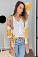 Load image into Gallery viewer, Sheer and Classic Cardigan in Mauve - Smith & Vena