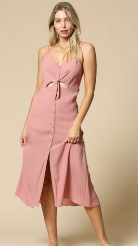 Madison Midi Dress- FINAL SALE - Smith & Vena Online Boutique