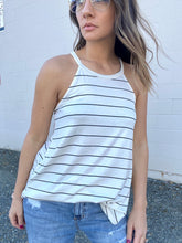 Load image into Gallery viewer, Fiona Stripe Halter Tank - Smith & Vena Online Boutique