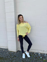 Load image into Gallery viewer, Desiree Dolman Top - Yellow - Smith & Vena Online Boutique