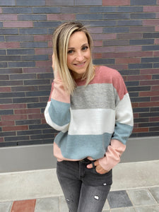 Danielle Striped Sweater