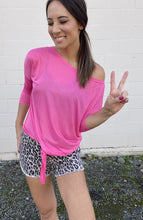Load image into Gallery viewer, Desiree Dolman Top - Pink - Smith & Vena Online Boutique