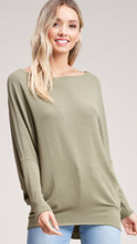 Load image into Gallery viewer, Joleen Dolman Top - Olive