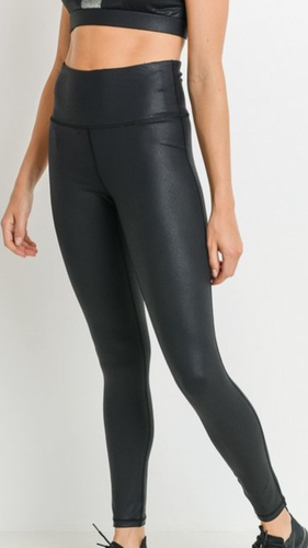 Faux Leather Leggings - Smith & Vena