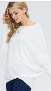 X Miley Dolman - White