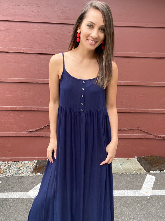 Sidney Babydoll Maxi - Smith & Vena Online Boutique