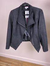 Load image into Gallery viewer, Harley Suede Moto Jacket