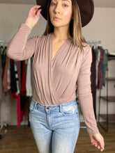 Load image into Gallery viewer, Riley Bodysuit -Taupe - Smith & Vena Online Boutique