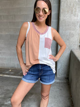 Load image into Gallery viewer, Becki Color Block Tank - Smith & Vena Online Boutique