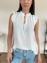Load image into Gallery viewer, Elena Eyelet Sleeve Top - FINAL SALE - Smith & Vena Online Boutique