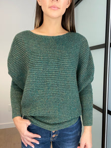 Laura Dolman Sweater - Smith & Vena Online Boutique