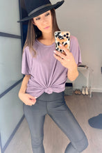 Load image into Gallery viewer, Cozy Cool Tee in Lavender - Smith & Vena Online Boutique