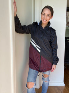 Misty Hooded Windbreaker - Smith & Vena Online Boutique