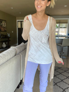 Faded Taupe Tank - Smith & Vena Online Boutique
