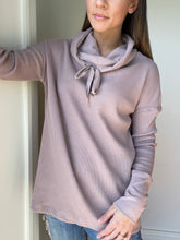 Load image into Gallery viewer, Zara Cowl Neck Pullover