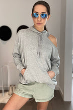 Load image into Gallery viewer, Cold Shoulder Sweatshirt - Smith & Vena