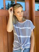 Load image into Gallery viewer, Play In Gray Top - Smith & Vena Online Boutique