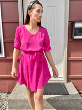 Load image into Gallery viewer, Pink Dress - Smith & Vena Online Boutique