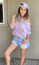 Load image into Gallery viewer, Joleen Dolman Top - Lavender - Smith & Vena Online Boutique