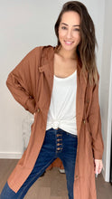 Load image into Gallery viewer, Charlotte Lightweight Camel Coat - Smith & Vena Online Boutique